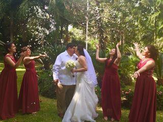 La boda de Krystal  y Oscar  3