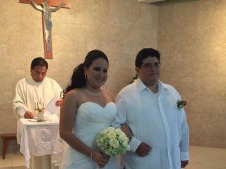 La boda de Krystal  y Oscar