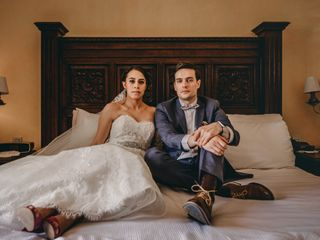 La boda de Marina y Jeff
