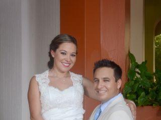 La boda de Berenice y Adan