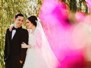 La boda de Alejandra y Andrés