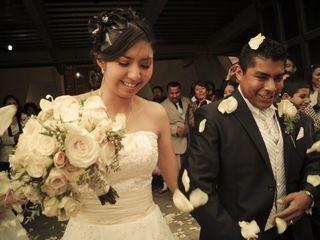 La boda de Sandy y Alfredo