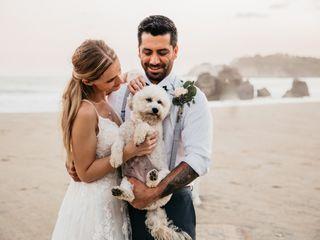 La boda de Aline y Alexis