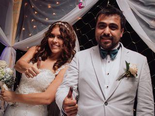 La boda de Gissell Gómez y Luis Guillén