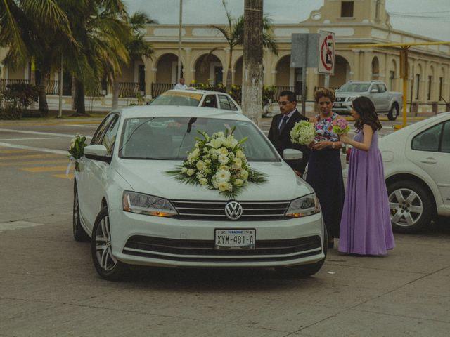 La boda de Christian y Alicia en Boca del Río, Veracruz 12