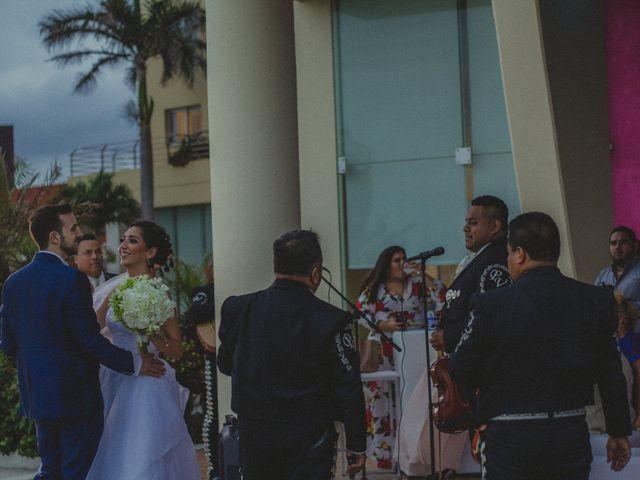 La boda de Christian y Alicia en Boca del Río, Veracruz 23