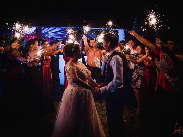 La boda de Rubí y Darwin