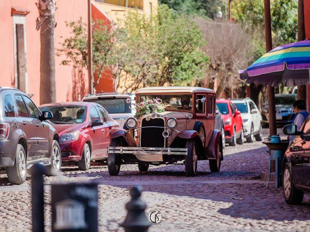 La boda de Hugo y Paola en San Miguel de Allende, Guanajuato 5