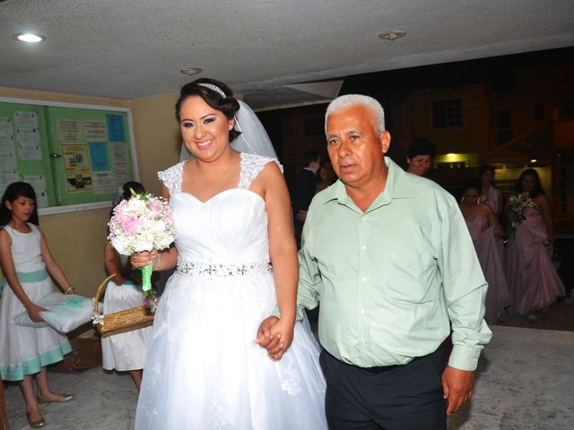 La boda de Samuel y Erika en Coatzacoalcos, Veracruz 4