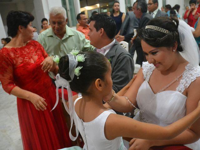 La boda de Samuel y Erika en Coatzacoalcos, Veracruz 10