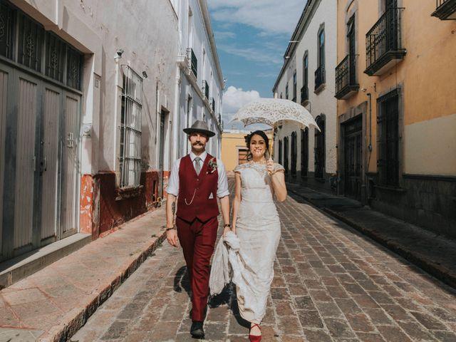 La boda de Michael y Michelle en Querétaro, Querétaro 48