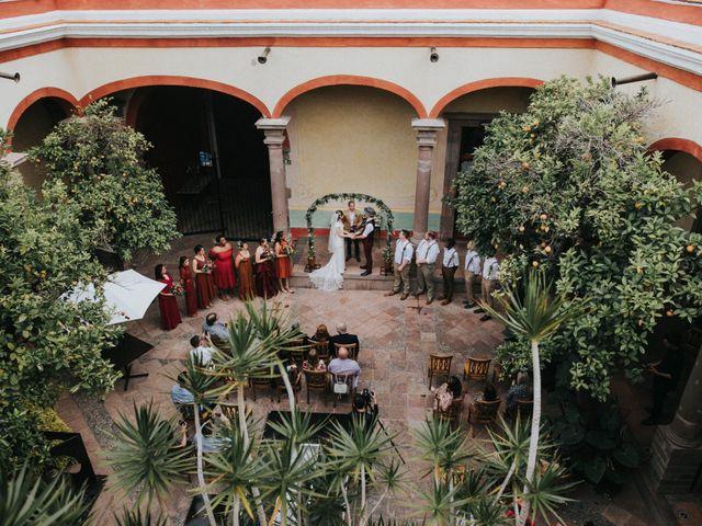 La boda de Michael y Michelle en Querétaro, Querétaro 54