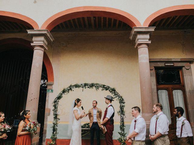 La boda de Michael y Michelle en Querétaro, Querétaro 60
