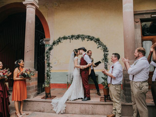 La boda de Michael y Michelle en Querétaro, Querétaro 66