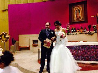 La boda de Ernesto y Gabriela