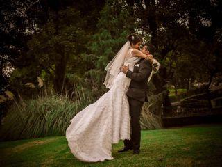 La boda de Claret y Daniel