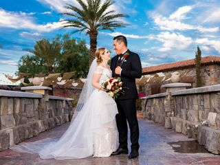 La boda de Astrid y Abdiel