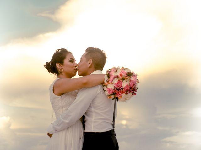 La boda de Hery y Brenda en Cancún, Quintana Roo 3