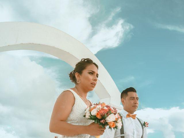 La boda de Hery y Brenda en Cancún, Quintana Roo 5
