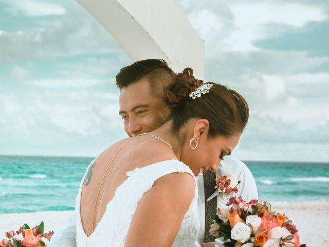 La boda de Hery y Brenda en Cancún, Quintana Roo 14
