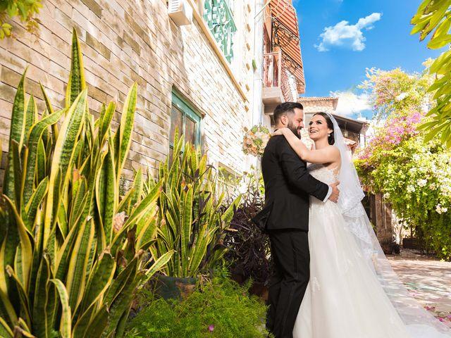 La boda de Edna y Iram