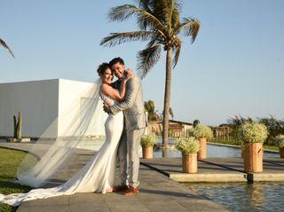La boda de Ashanti y David