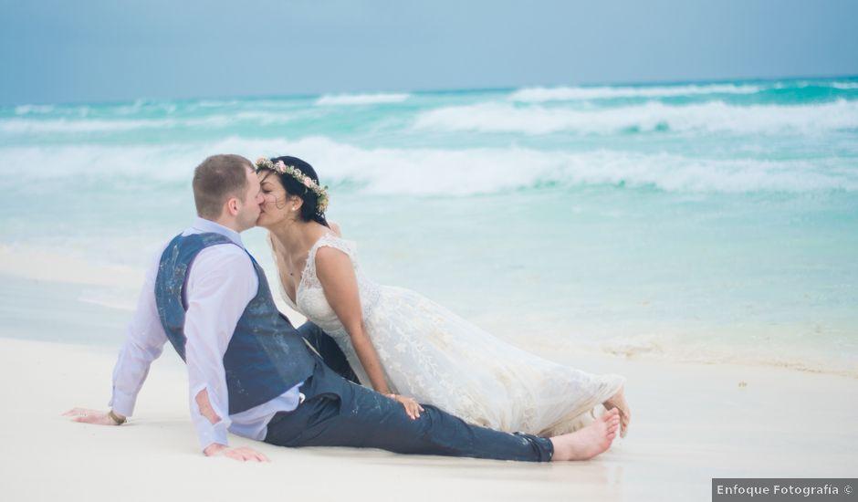 La boda de Matt y Yuli en Cancún, Quintana Roo