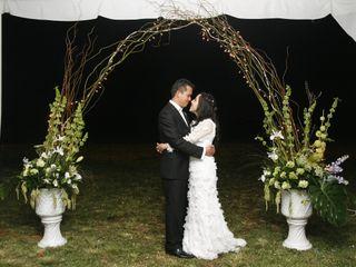 La boda de Distena y Juan Francisco