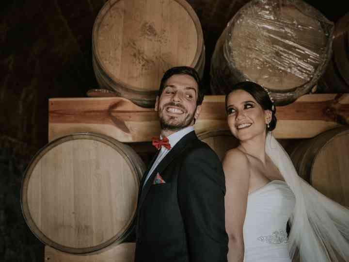 La boda de Paloma y Maxime