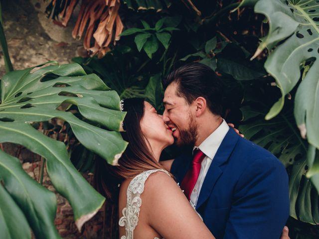 La boda de Esmeralda y Daniel en Mazatepec, Morelos 67