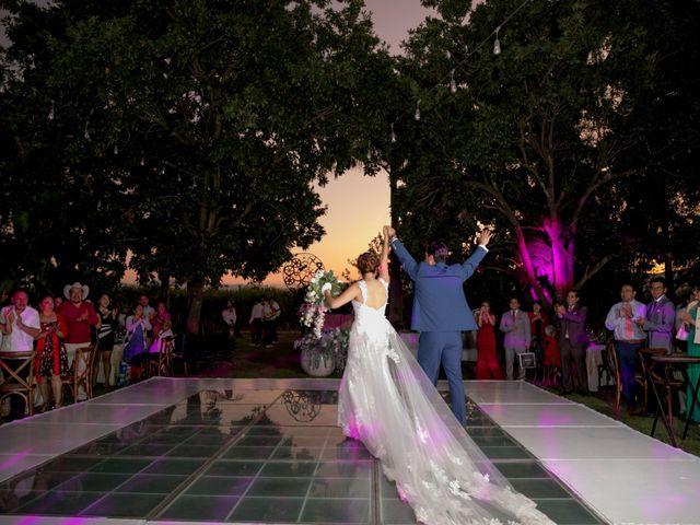 La boda de Esmeralda y Daniel en Mazatepec, Morelos 47