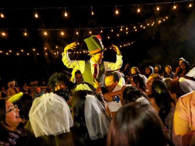 La boda de Esmeralda y Daniel en Mazatepec, Morelos 54