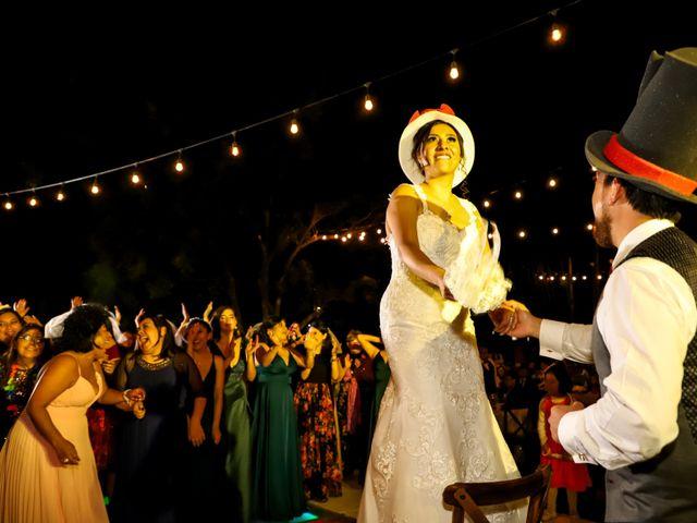 La boda de Esmeralda y Daniel en Mazatepec, Morelos 55