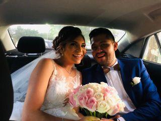 La boda de Andrea y César