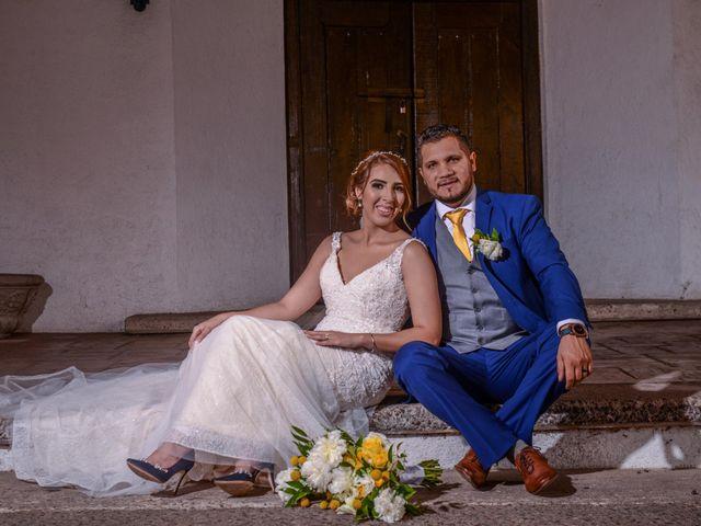 La boda de Carolina y Aron