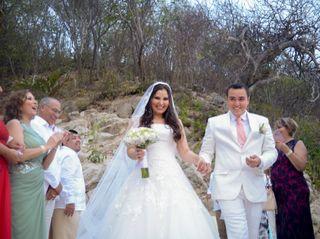 La boda de Hali y Milton