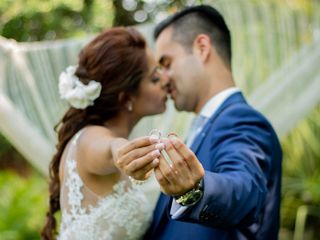 La boda de Isra y Rossy
