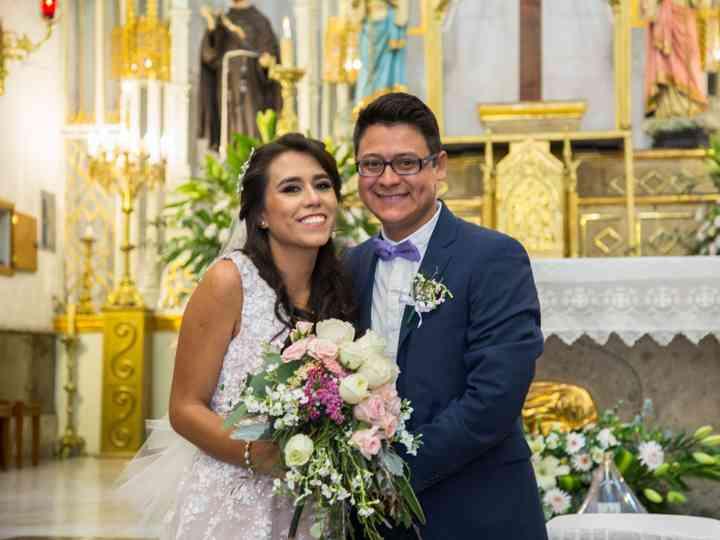 La boda de Elizabeth y Oswaldo