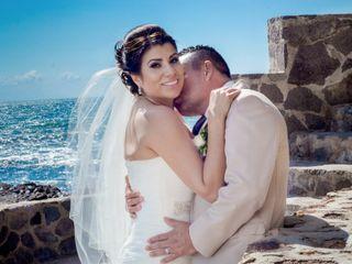 La boda de Elizabeth y Juan Carlos