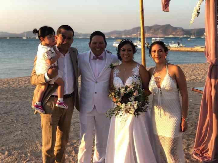 La boda de Aida y René