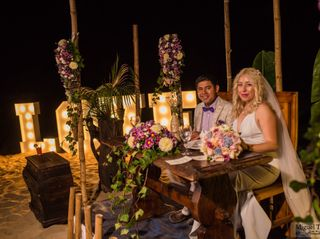 La boda de Sarahí  y Alfonso