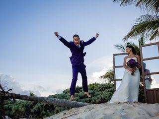 La boda de Lavinia y Dimitri
