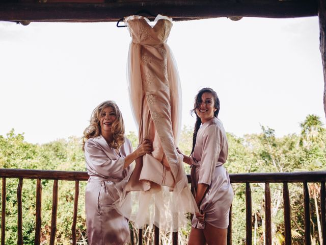 La boda de Guillermo y Tanya en Playa del Carmen, Quintana Roo 1