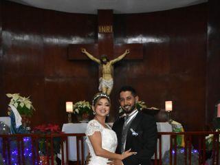 La boda de Vicente y Evelyn