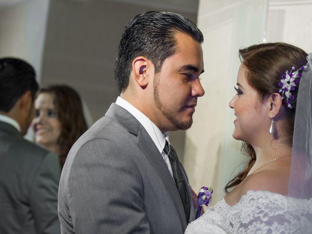La boda de Yuri y Luis