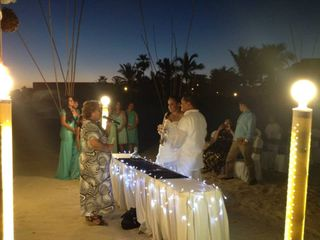 La boda de Franck y Mar