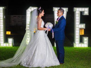 La boda de Iveth y Benjamín