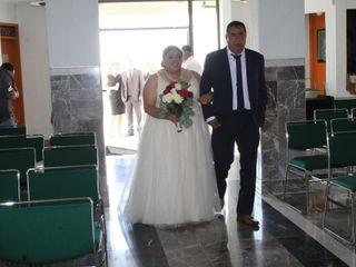 La boda de Berenice  y Angel  1