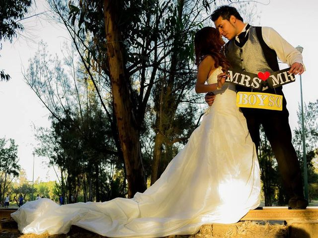 La boda de Ulises Boyso y Viridiana en Ecatepec, Estado México 5