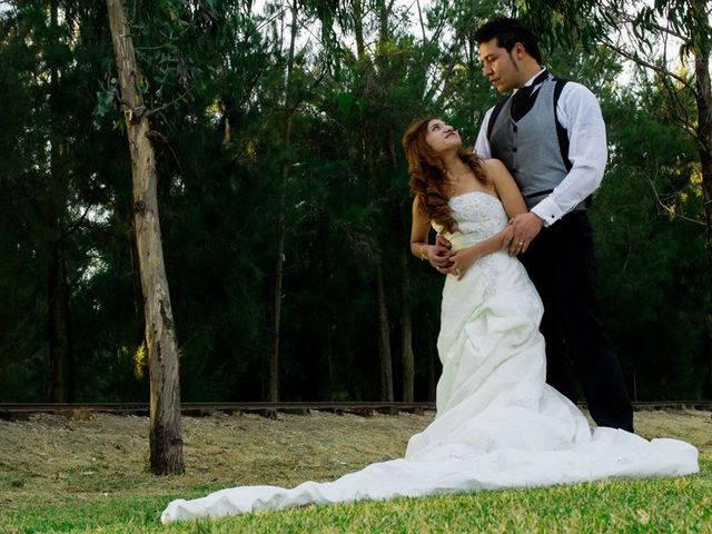 La boda de Ulises Boyso y Viridiana en Ecatepec, Estado México 8